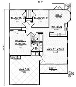 Aspen Model floor plan