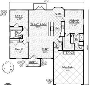Denver model floor plan