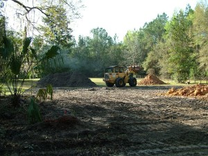 2-The first step is to get your lot prepped for construction. We will need to clear trees, level the land, and address other typical site issues.