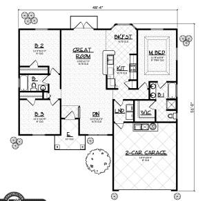 Wyoming model floor plan