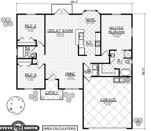 Wyoming II model floor plan